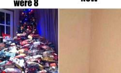 Christmas Then Christmas Now