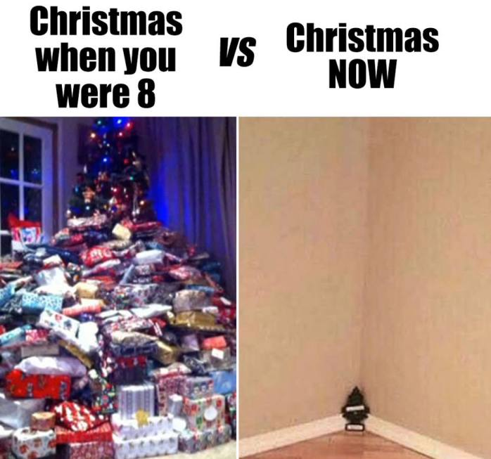 Christmas Then Christmas Now