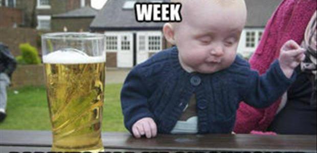 Drunk Baby Lost Weight