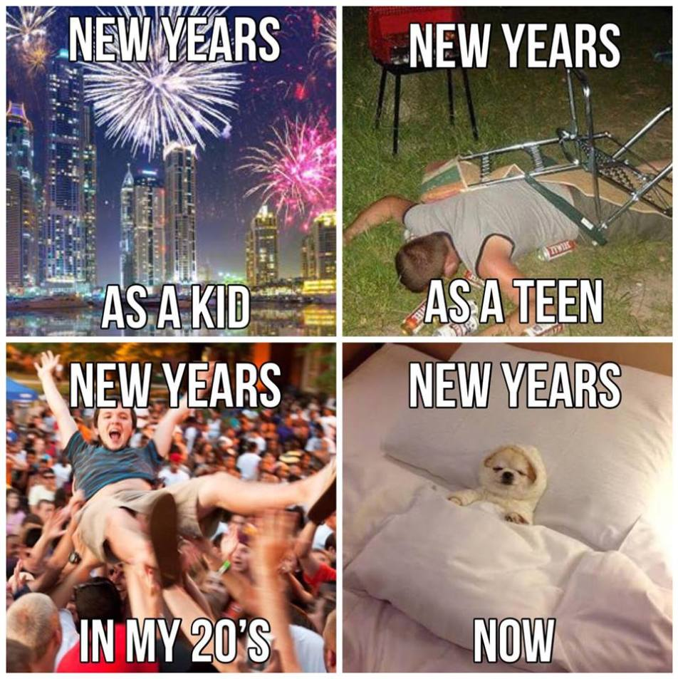 New Years Aging