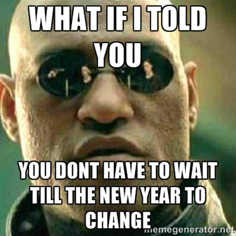 No New Year Change