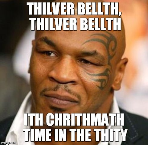 Thilver Bellth mike tyson silver bells meme