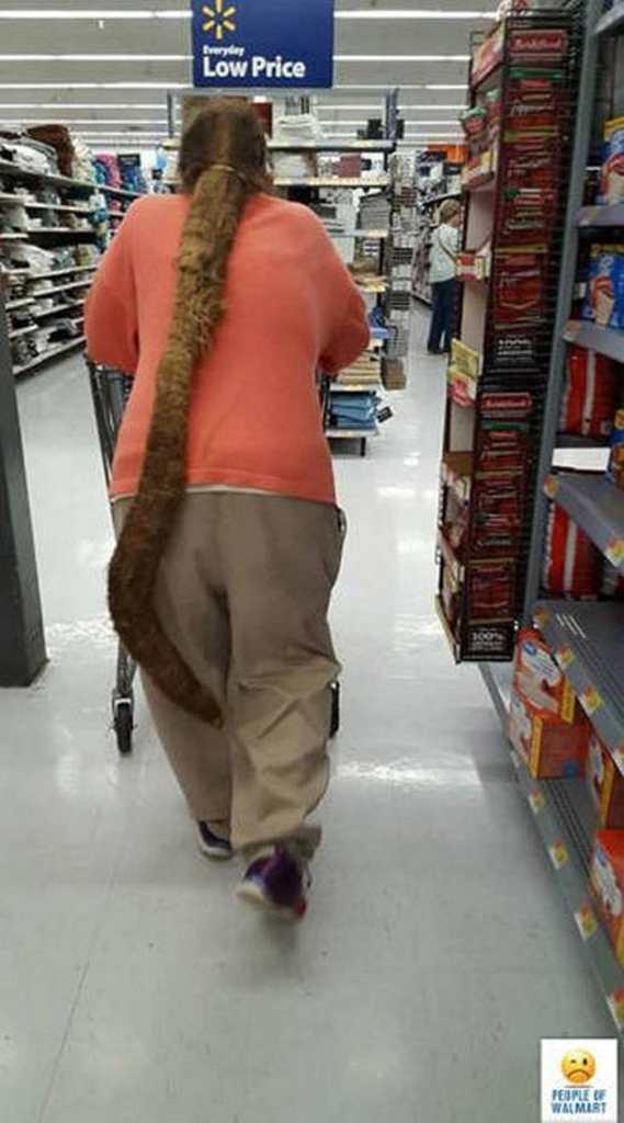 Walmartian Hair