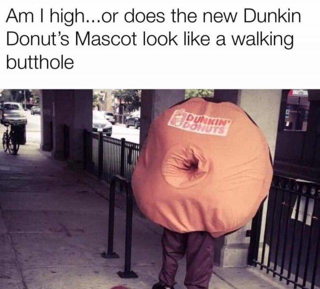 Dunkin Donuts Turn Off