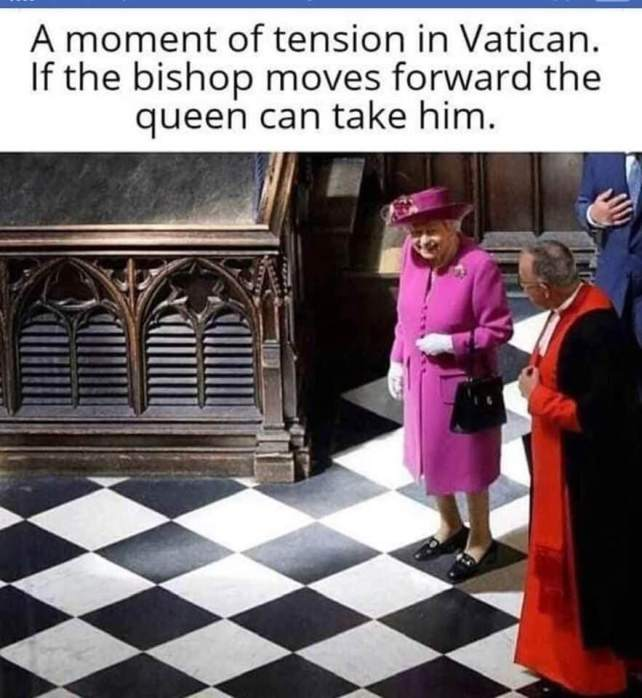 The Queen - Chess at the Vatican