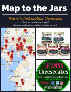 Where to find Cheesecake