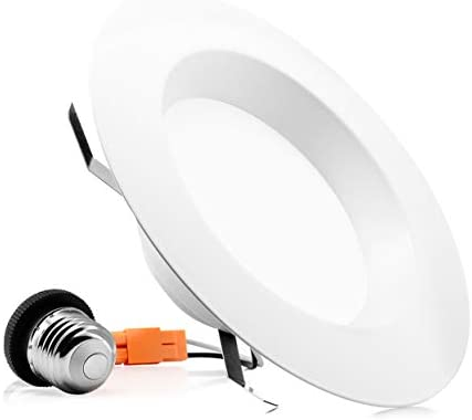 (1 Pack)- 5/6 inch Dimmable LED Downlight, 15W (120W Replacement),Easy Installation, Retrofit LED Recessed Lighting Fixture, 5000K (Day Light), 1100 Lm, Energy Star, LED Ceiling Down Light