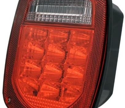Pilot Automotive NV-5105L LED Universal Stud Mount Combination Tail Light with License Plate
