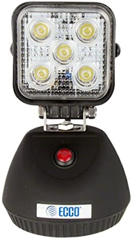 ECCO EW2461-NA LED Light, Flood Beam, Magnetic Rechargeable, includes AC Adapter