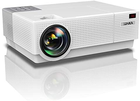 YABER Y31 Native 1920x 1080P Projector 7000 Lux Upgrade Full HD Video Projector, ±50° 4D Keystone Correction Support 4K, LCD LED Home Theater Projector Compatible with Phone,PC,TV Box,PS4