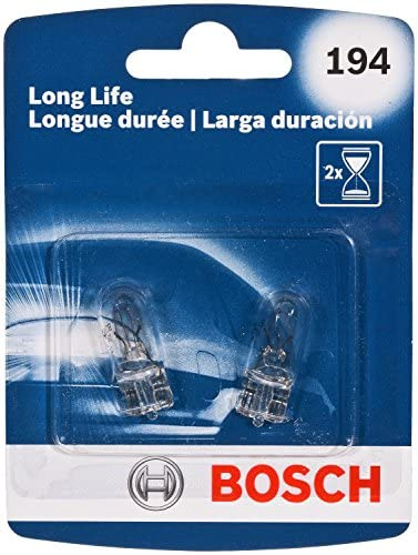 Bosch 194 Long Life Upgrade Minature Bulb, Pack of 2