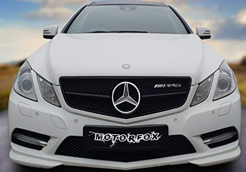 Motorfox Led Badge Emblem White Light Car Star Logo Front Grill Glow (Silver 2011-2019) INCLUDING EASY CONNECTION KIT