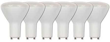 Westinghouse Lighting 3315920 65-Watt Equivalent R30 Flood Dimmable Soft White LED Light Bulb with GU24 Base (6 Pack), Six Pack