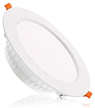 6 inch Dimmable LED Downlight, 110V 16W 1280Lm, 6000K Daylight/Pure White Retrofit Recessed Lighting, CRI 80 with LED Driver, No Junction Box