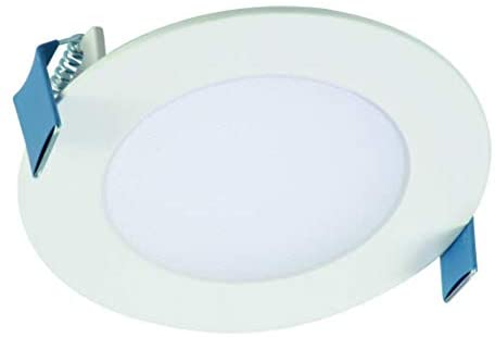 Cooper Lighting HLB4069FS1EMWR HLB 4 in Integrated Light Direct Mount Kit with Selectable CCT LED Recessed Trim, 4 Inches, White