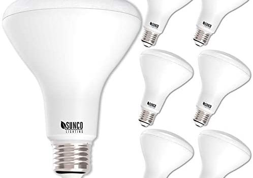 Sunco Lighting 6 Pack BR30 LED Bulb 11W=65W, 5000K Daylight, 850 LM, E26 Base, Dimmable, Indoor Flood Light for Cans – UL & Energy Star