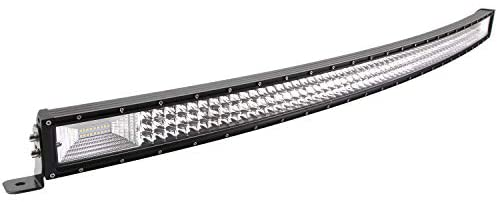LED Light Bar, Northpole Light Tri-Row 50 inch 648W Curved LED Light Bar Spot-Flood Combo Jeep Off-road Lights Driving Fog Lights with Mounting Bracket for Off Road, Truck, Car, ATV, SUV, Jeep
