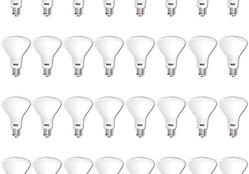 Sunco Lighting 32 Pack BR30 LED Bulb 11W=65W, 5000K Daylight, 850 LM, E26 Base, Dimmable, Indoor Flood Light for Cans – UL & Energy Star