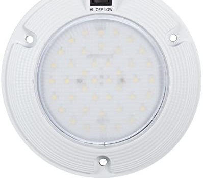 Maxxima M84434-A 42 LED 6.0″ Three Position Hi/Off/Low Switch Inteior Dome Light 1200 Lumens