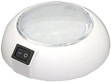 LED Dome Light – 24 VDC – High Power Cool White LED Downlight for Home, Auto, Truck, RV, Boat and Aircraft