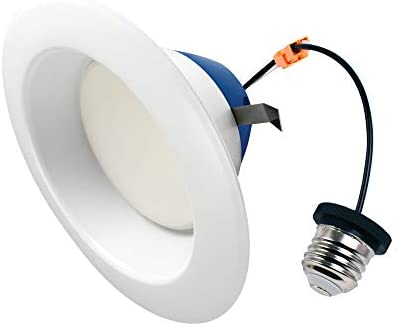 Cree Lighting TRDL6-0804000FH50-12DE26-1-11 6 inch LED Retrofit Downlight 75W Equivalent (Dimmable) 825, lumens, Cool White 4000K