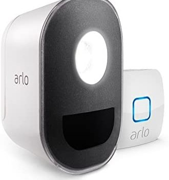 Arlo Lights – Smart Home Security Light |Wireless, Weather Resistant, Motion Sensor, Indoor/Outdoor, Multi-colored LED| 1 Light Kit (ALS1101) camera not included
