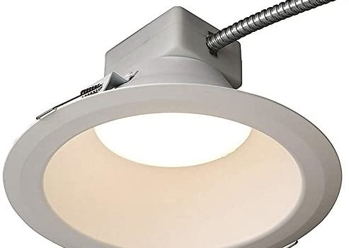 GE (General Electric) – LRX-R8-18-8-35-MD – Lumination LED Downlights, LRX Series, 8 in. Round, 1800 Lumens, 3500K, 0-10V Dimming