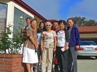 Family gathering in Monterey