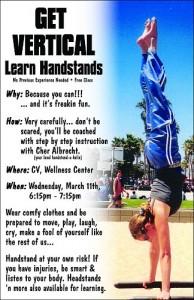 Handstand Class