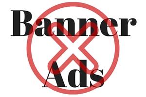 No Banner Ads