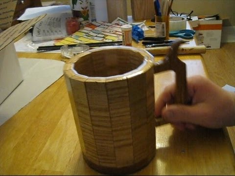 Video : How to Make a Wooden Beer Mug