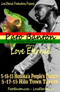 Pato Banton with Love Eternal