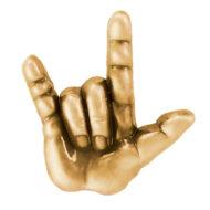 ASL Gold Pin