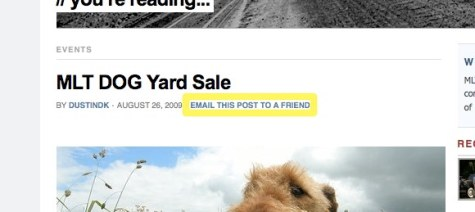 MLT DOG Yard Sale | MLTnews.com | A blog about Mountlake Terrace, WA