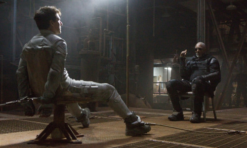 Tom Cruise Morgan Freeman Oblivion Movie 2