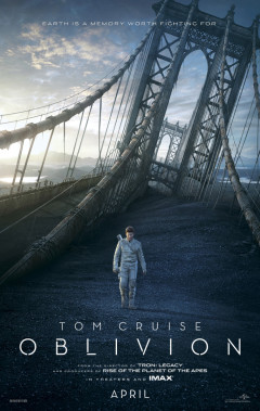 Tom Cruise Oblivion Movie Poster