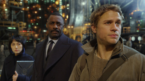 Idris Elba Charlie Hunnam Pacific Rim Movie 1