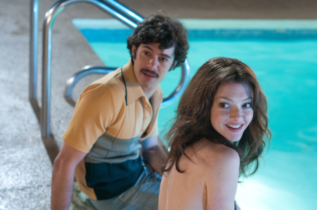 Lovelace Movie Still 1 Amanda Seyfried & Adam Brody