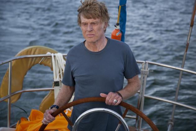 All Is Lost Movie Still 1 - Robert Redford