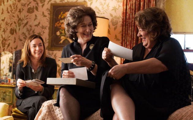 August Osage County Movie Still 2 - Meryl Streep & Margo Martindale