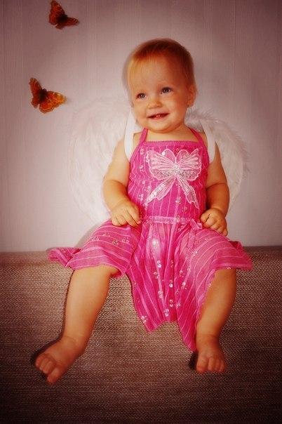 день рождение 1 год подарок живые бабочки