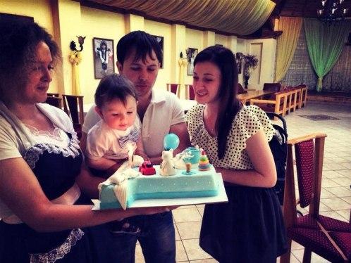 день рождения в кафе первый годик