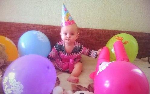 день рождения в шариках