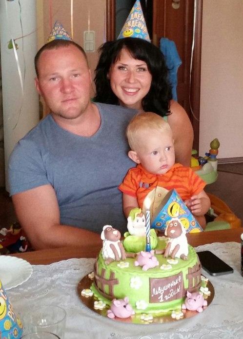 день рождения малыша первый год