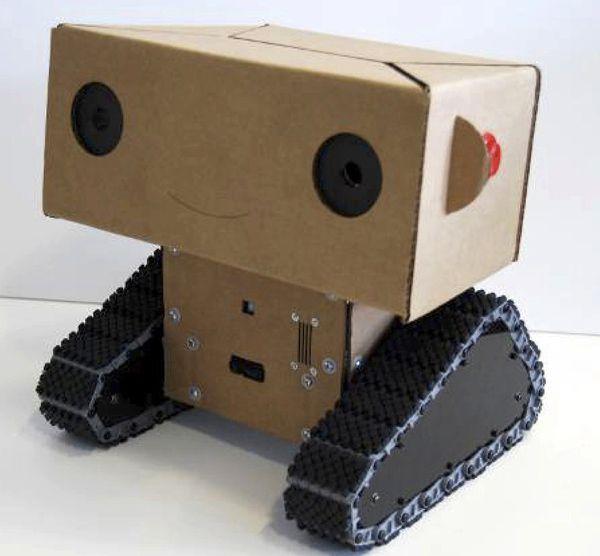Робот своими руками для ребенка