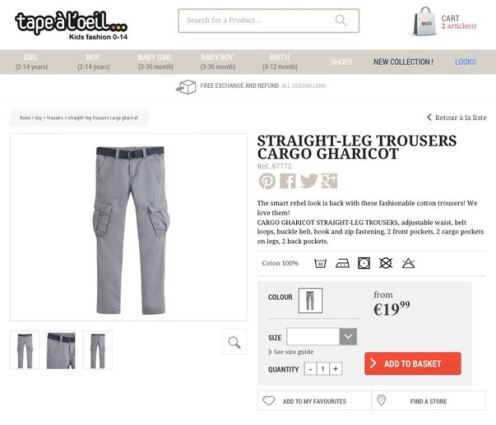 французская одежда для детей интернет-магазин