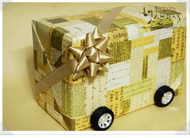 день рождения папы упаковка подарка