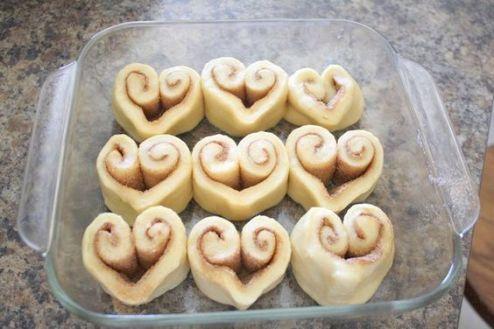 идеи для завтрака для любимого сердечки выпечка
