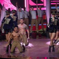 Dannii Minogue raunchy Let It Shine opening dance video clip