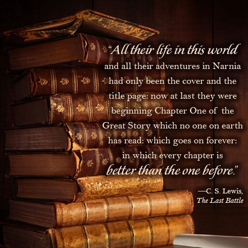 Image result for chapter on of the great story c. s. Lewis images